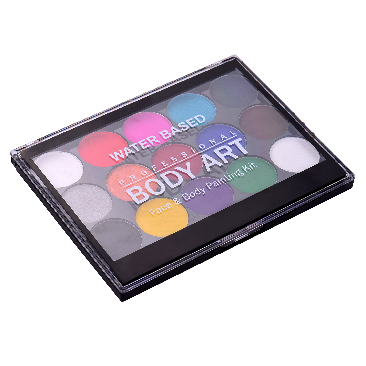 Body Art Face Paint Tray Make Up Stage Kit Party Kids Set 8 Colours