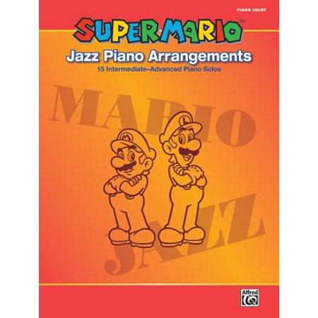 Super Mario Jazz Piano Arrangements : 15 Intermediate-Advanced Piano Solos