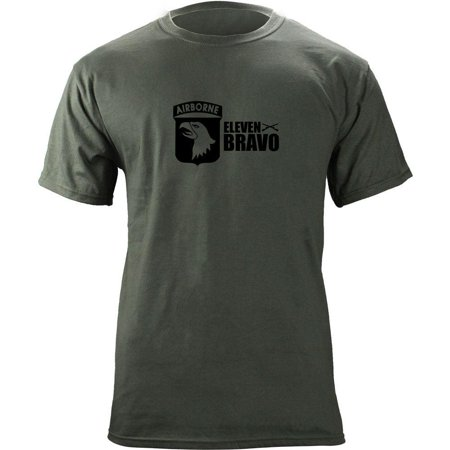 Army 101st Airborne Division 11 Bravo Infantry T-Shirt