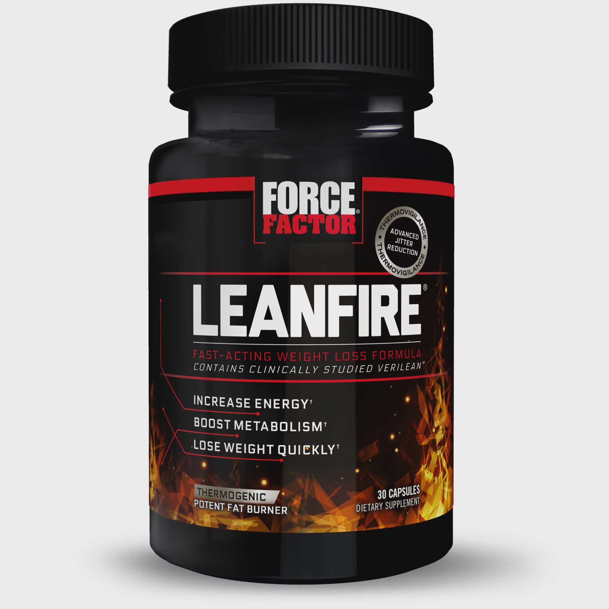 Force Factor Leanfire Thermogenic Fat Burner For Weight Loss With Garcinia Cambogia Green Coffee Bean Green Tea