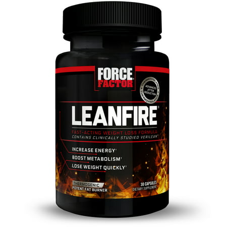 Strength Weight Loss - Force Factor LeanFire, Metabolism Booster + Weight Loss, 30 Ct