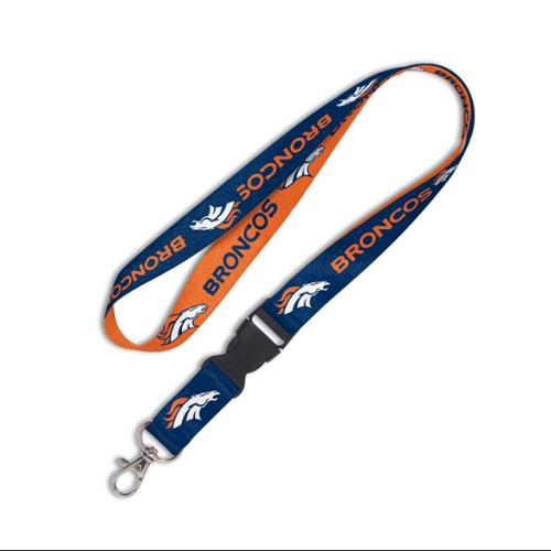 Denver Broncos Lanyard With Detachable Buckle