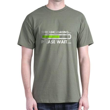 62e8c2a084 CafePress - Sarcasm Loading Please Wait T-Shirt - 100% Cotton T-Shirt -  Walmart.com