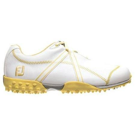 7c3c8a9d923c77 FootJoy - FootJoy Womens M Project 95647 White/ Yellow Spikeless Golf Shoes  LADIES SHOE SIZE 11 MEDIUM - Walmart.com