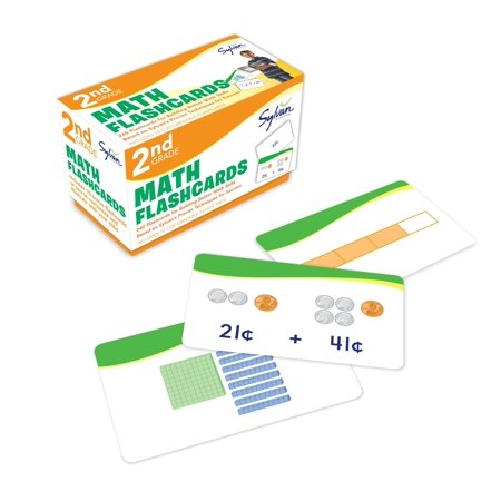 Math Practice Flash Cards (2nd Grade Math Flashcards : 240 Flashcards for Building Better Math Skills Based on Sylvan's Proven Techniques for)