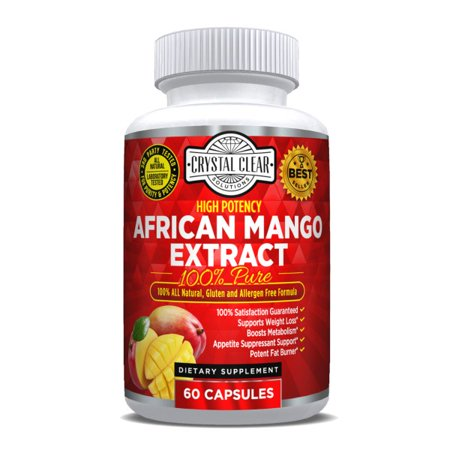 African Mango Pure - 500mg 60 Caps