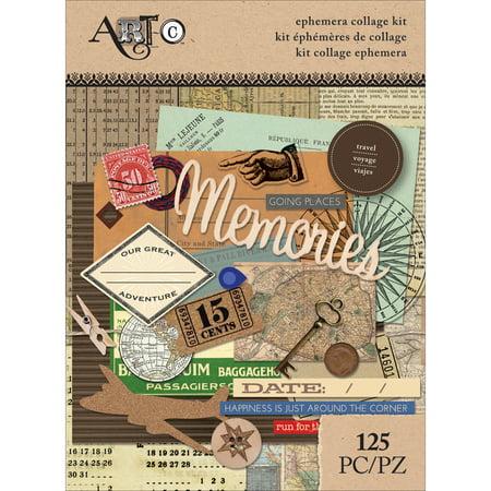 Art-C Ephemera Collage Pack - Ephemera Scrapbooking