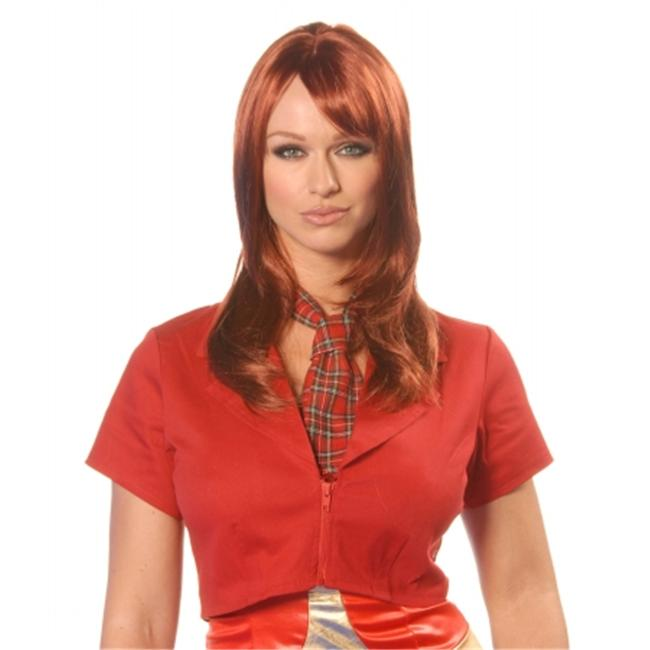 Wicked Wigs 812223010830 Women Angel Sangria - Red Wig