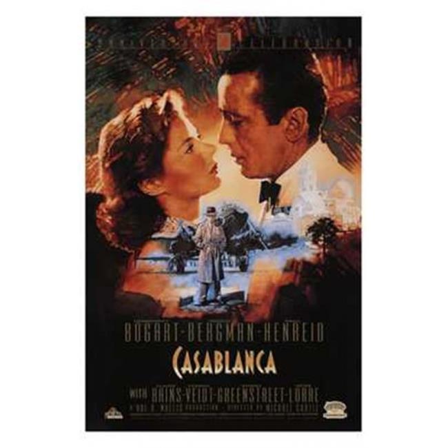 Posterazzi MOV189558 Casablanca Movie Poster - 11 x 17 in. - image 1 de 1