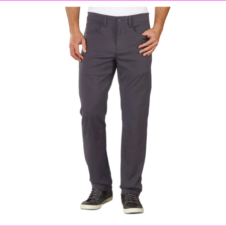 Expedition Base Layer Pant - Weatherproof Vintage Men's Straight Fit Stretch Fabric Expedition Pant 38x34/Rough Water