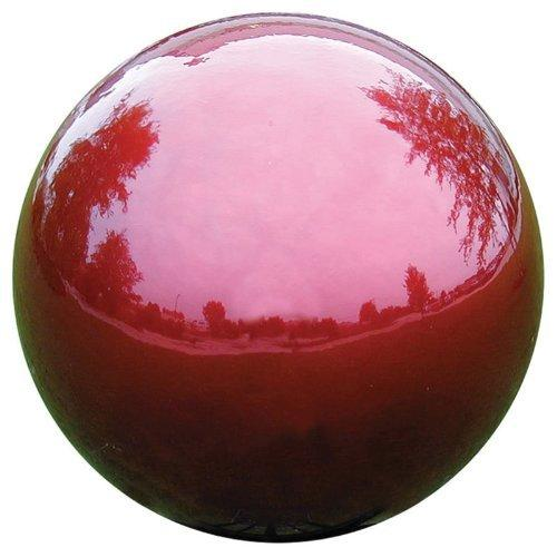 "Very Cool Stuff 10"" Stainless Steel Globe - Red"