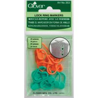Deals on 40-Pack Clover Locking Stitch Marker 10938553