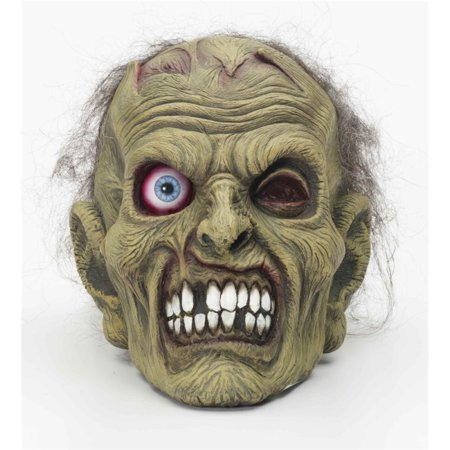 Zombie Head Mask Halloween Costume Accessory (Gas Mask Zombie)