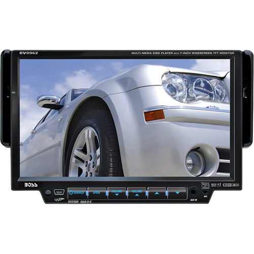 "Boss Audio In-Dash DVD/MP3/CD AM/FM with 7"" Widescreen TFT Monitor"