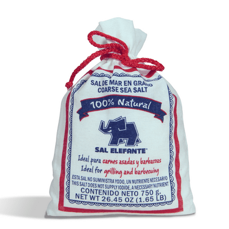 Elefante Coarse Sea Salt, 26.45 oz (2 Pack)