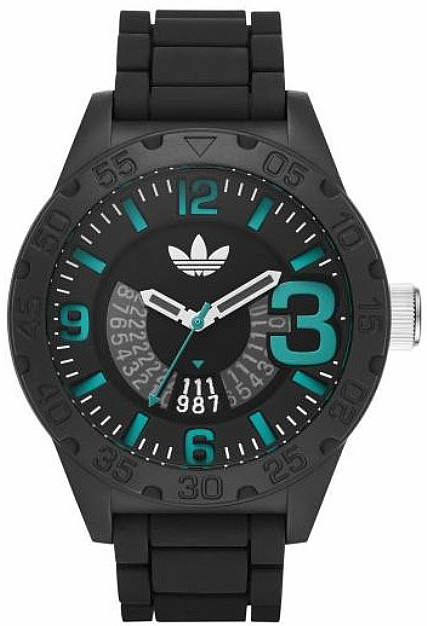 Men's Adidas Originals Newburgh Black Link Watch ADH3111 by Adidas