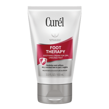 (2 pack) Curel Soothing Cream Foot Therapy, 3.5 FL (Foot Therapy Peppermint Foot Cream)