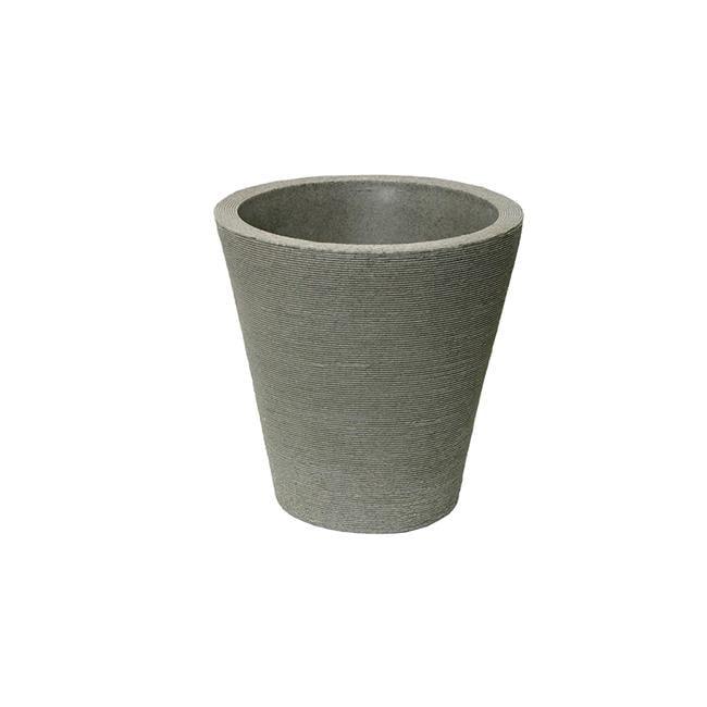 Algreen 89801 15 x 14 x 14 in. Olympus Self Watering Planter, Taupestone - image 1 of 1