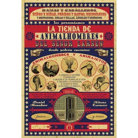 La tienda de animalhombres del señor Larsen - eBook](La Tienda Hours)