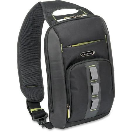 Solo, USLSTM7514, US Luggage Universal Tablet Sling Backpack, 1, Black,Gray (Sling Ipad Tablet Backpack)