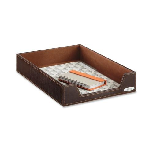 Safco Leather-Look Single Letter Tray SAF9391CE