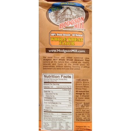 Hodgson Mill All Natural Stone Ground Whole Wheat Graham