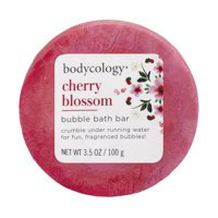 Bodycology Bubble Bath Bar, Cherry Blossom, 3.5 oz