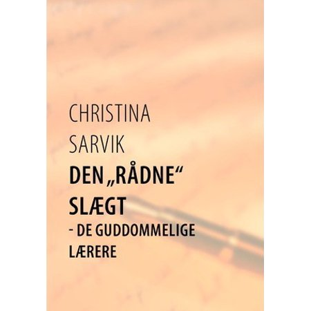 Den R Dne Sl Gt By Christina Sarvik Paperback Book