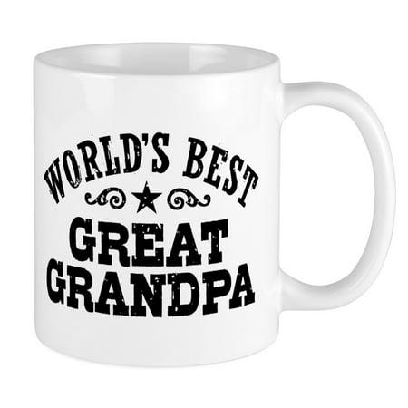 CafePress - World's Best Great Grandpa Mug - Unique Coffee Mug, Coffee Cup