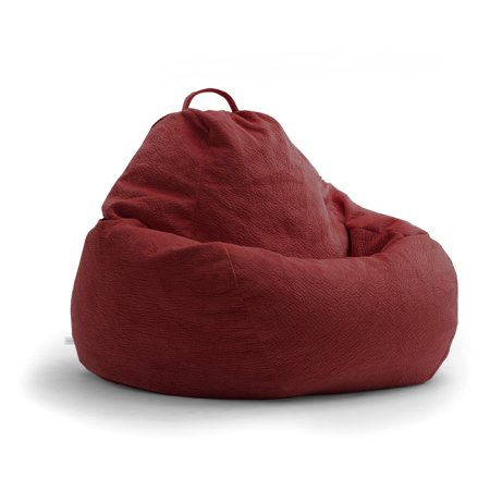 Lux By Big Joe 132 In Teardrop Ripple Bean Bag Walmart Com
