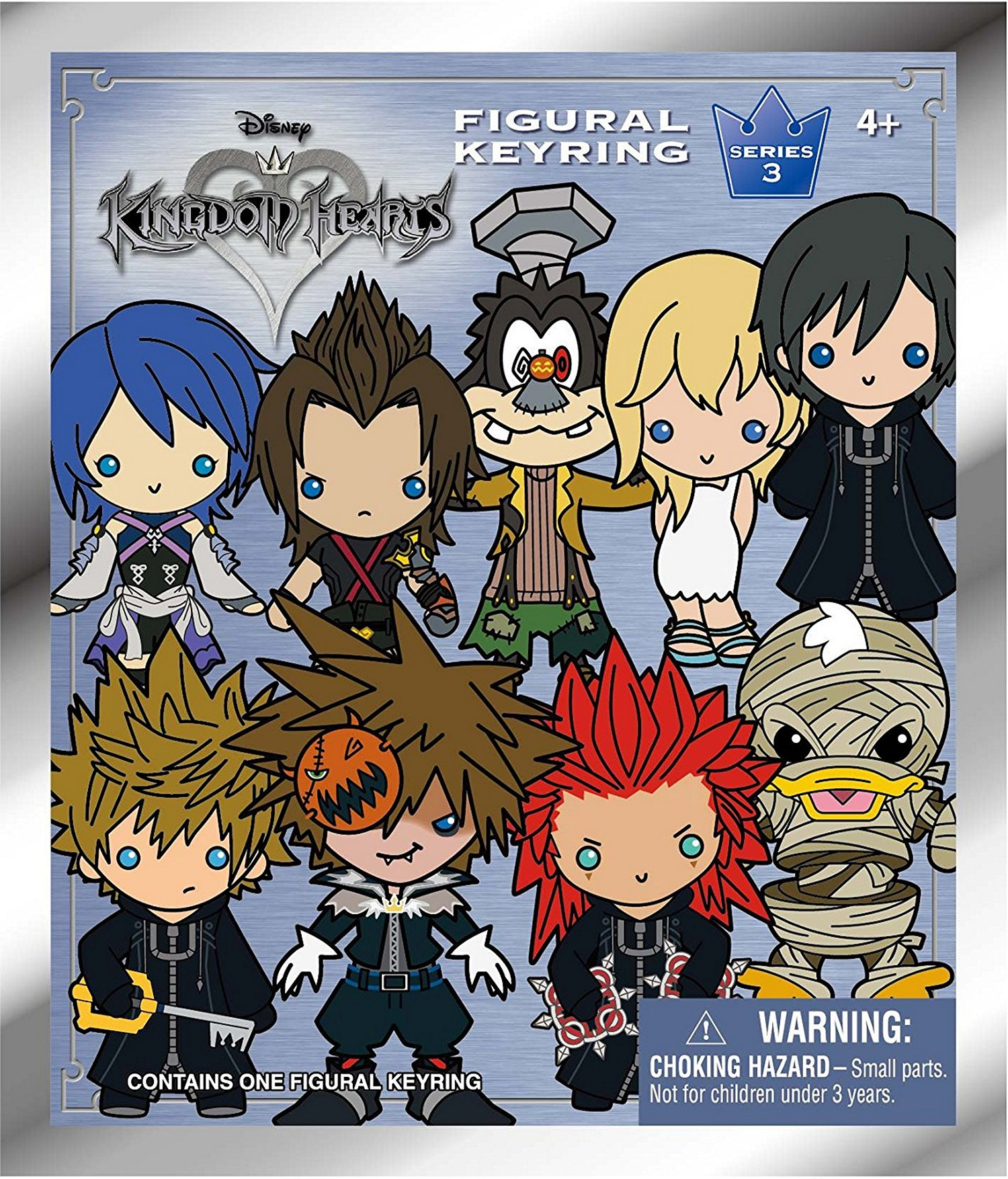 Monogram Disney Kingdom Hearts Keychain 3D Figural Keyring Series 2 /& 3