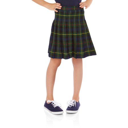 George Girls' School Uniforms, Parochial Plaid Skirt - Walmart.com