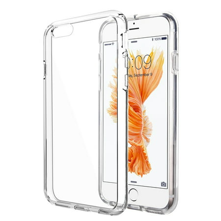 Slim High Quality Clear TPU Rubber Case Cover For iPhone 6 Plus / 6S Plus -