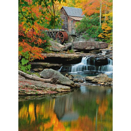 Brewster home fashions ideal decor grist mill wall mural for Brewster wall mural