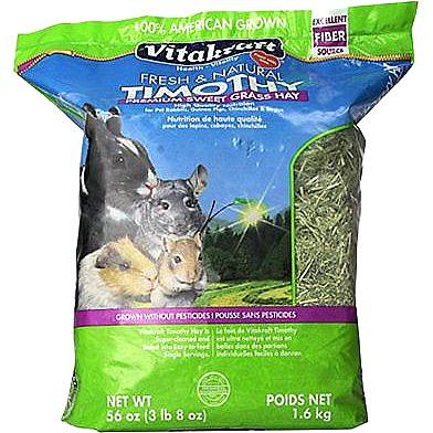 Vitakraft Fresh & Natural Timothy Hay Premium Sweet Grass Hay, 56 oz.