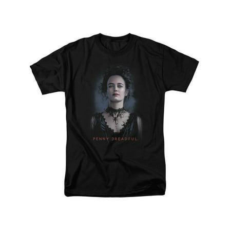 Penny Dreadful Horror TV Series Vanessa Promo Adult T-Shirt Tee](Warrior Clothing Promo Code)