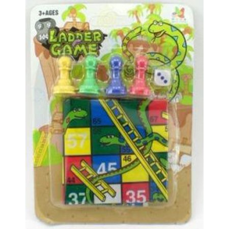 Snakes And Ladders Simple Game Set ()