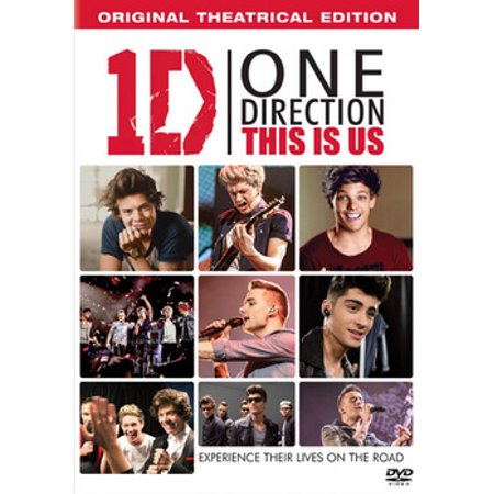 One Direction: This Is Us (DVD + Digital HD) (One Direction Halloween Cartoons)