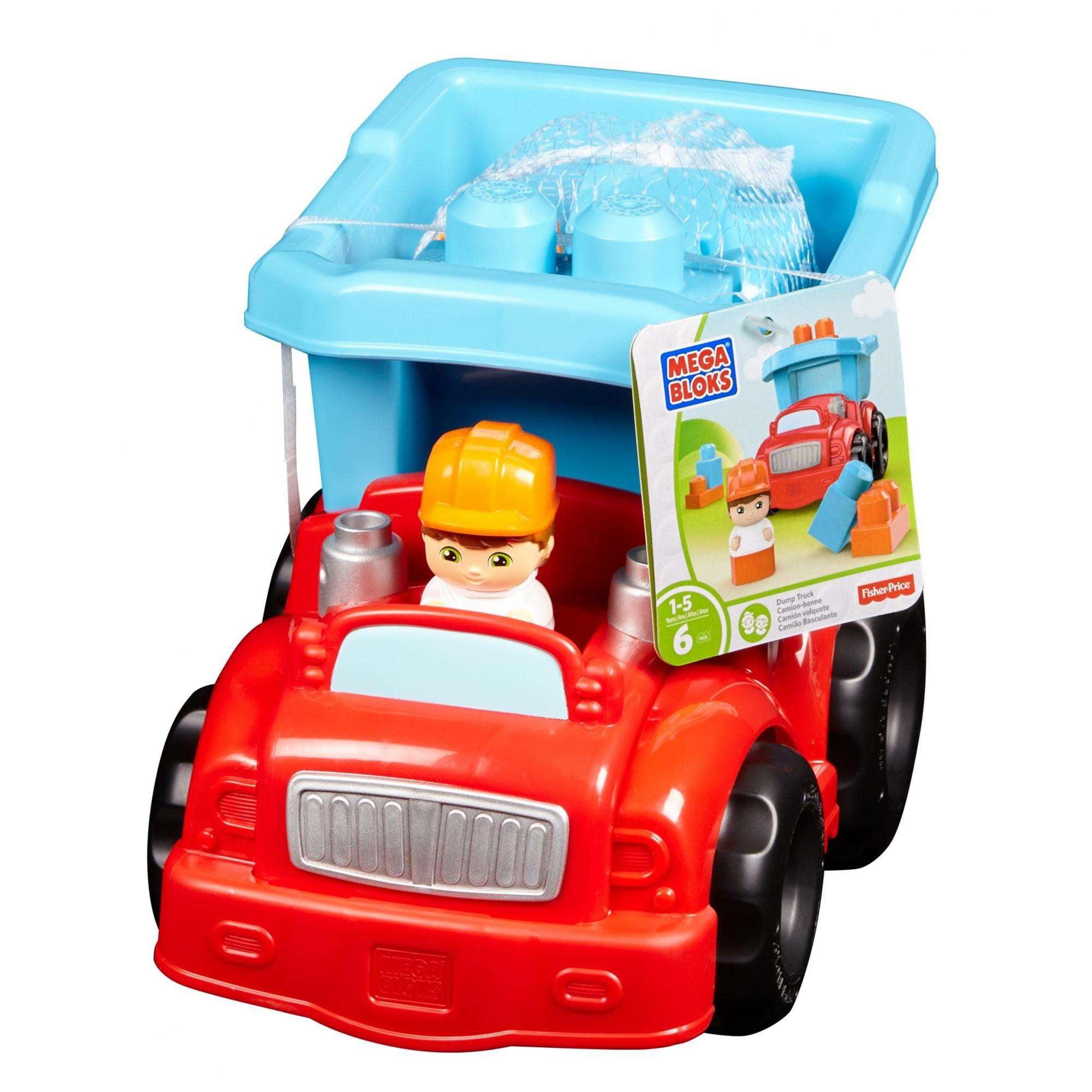 Mega Bloks Dump Truck by Mega Bloks