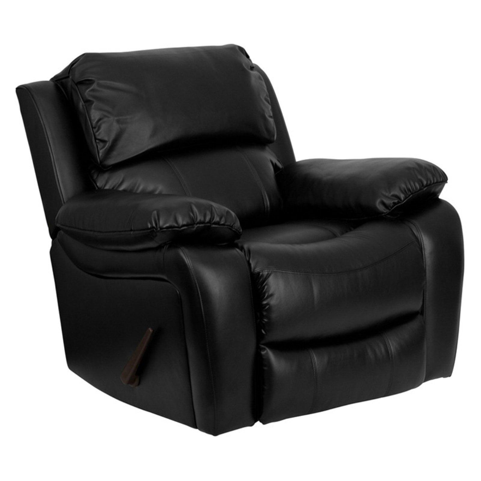 Flash Furniture Leather Rocker Recliner Multiple Colors Walmart