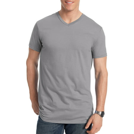 Hanes Big men's nano-t short sleeve v-neck