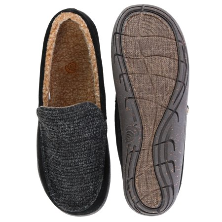 07c6ae14c89 Acorn Men's Ellsworth Suede Moccasin Slipper | Walmart Canada