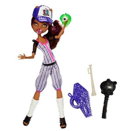 Monster High Ghoul Sports Clawdeen Wolf Doll - Monster High Clawdeen Wolf Ghouls Rule Halloween