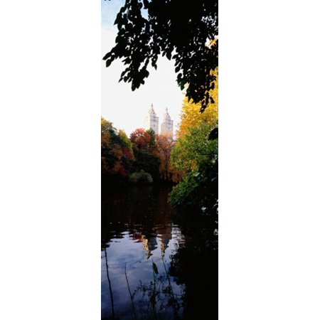 Central Park Manhattan New York City Stretched Canvas - Panoramic Images (12 x 33) (33 Und Park)