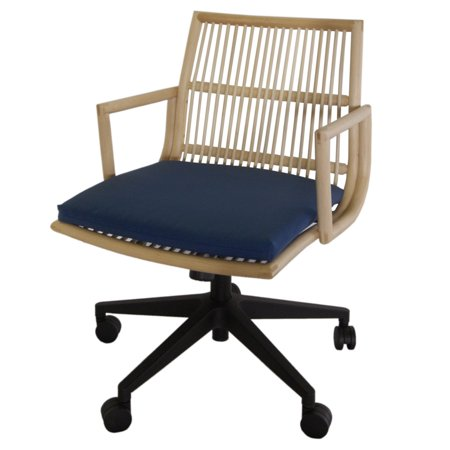 New Pacific Direct Inc Virza Rattan Office Chair ()