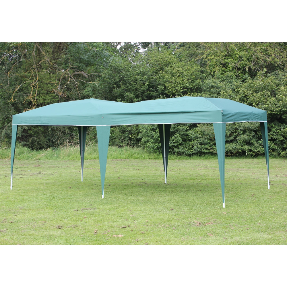 New 10' x 20' Palm Springs GREEN Pop UP EZ Set Up Canopy Gazebo Party Tent