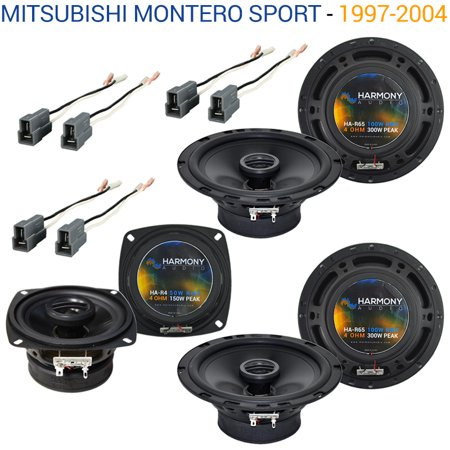 Mitsubishi Car Speakers - Mitsubishi Montero Sport 97-04 OEM Speaker Upgrade Harmony (2) R65 R4 Package