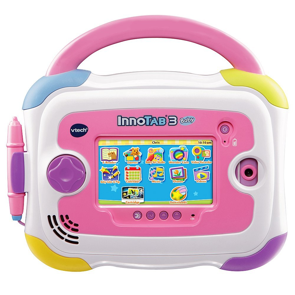 VTech InnoTab 3 Baby Kids Learning Tablet, 4.3-Inch Color Touchscreen, and 2GB Memory,... by VTech