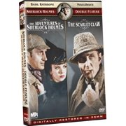 The Adventures of Sherlock Holmes / The Scarlet Claw (DVD)
