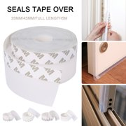 HOTBEST Silicone Weather Strip Insulation Door Window Draft Sealing Tape Adhesive -5M